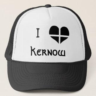 Ik houd Cornwall Kernow St Piran van het Ontwerp Trucker Pet