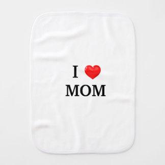 Ik HOUD de oprisping van doek van het MAMMA Spuugdoekjes