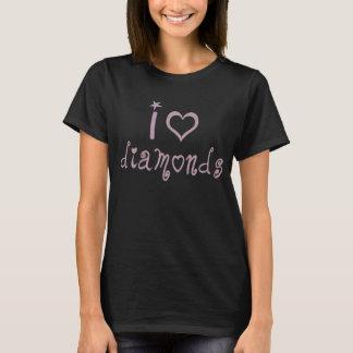 Ik houd diamanten van T-shirt
