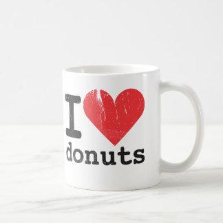 Ik houd donuts van Klassieke Witte Mok