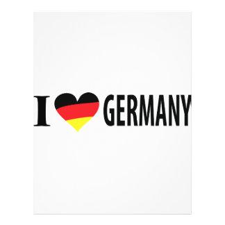 Ik houd Duitsland van pictogram Folder
