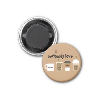 Ik houd ernstig van de Magneet van de Koffie