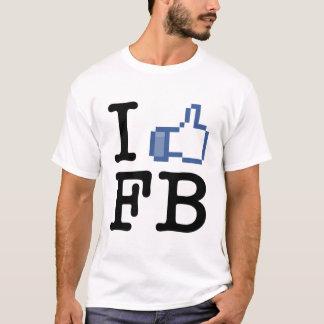 Ik houd FB van T-shirt
