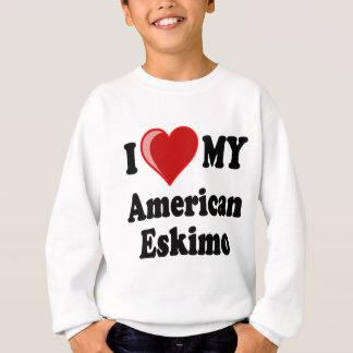 Ik houd (Hart) van Mijn Amerikaanse EskimoHond Trui