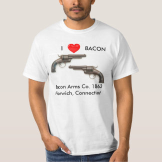 Ik houd het pistool van overhemd van het Bacon T Shirt