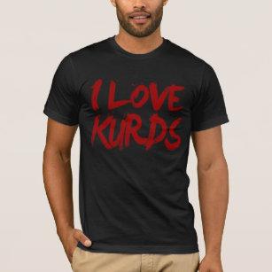 Ik houd koele van Koerden T Shirt