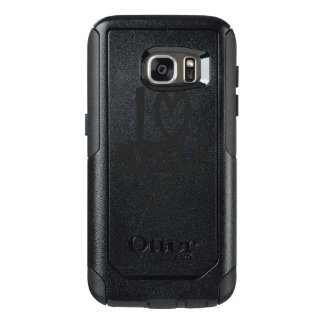 Ik houd me van Smiley OtterBox Samsung Galaxy S7 Hoesje