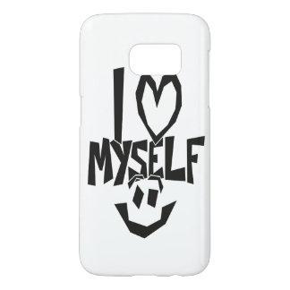 Ik houd me van Smiley Samsung Galaxy S7 Hoesje