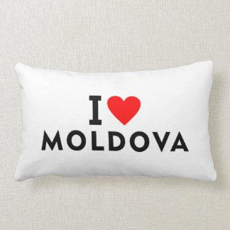 Ik houd Moldova van land zoals het toerisme van de Lumbar Kussen