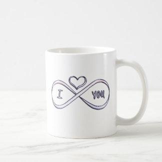 Ik houd oneindig van u koffiemok