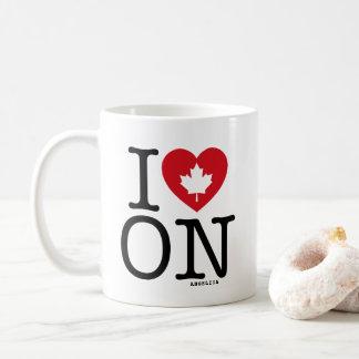 Ik houd OP   van de Mok van de Douane van Ontario