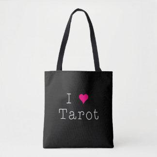 Ik houd over van de Zwarte van het Tarot helemaal Draagtas