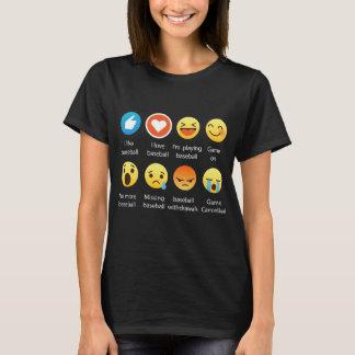 Ik houd Overhemd van het T-shirt van Emoji