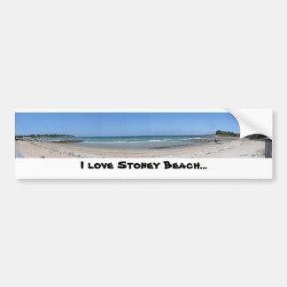 Ik houd Stoney van Strand… Bumpersticker