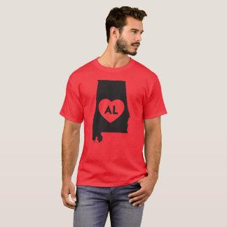 Ik houd T-shirt van het Mannen van de Staat van