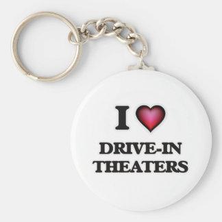 Ik houd van aandrijving-in Theaters Sleutelhanger