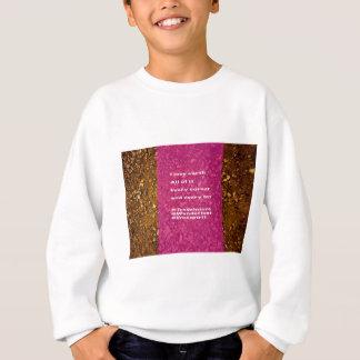 Ik houd van aarde, elk beetje… trui
