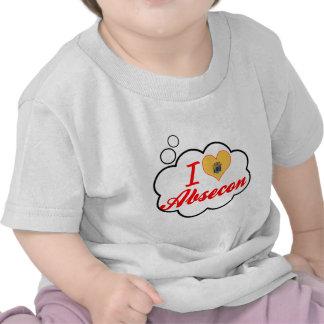 Ik houd van Absecon, New Jersey T-shirts