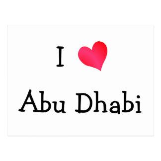 Ik houd van Abu Dhabi Briefkaart