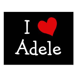 Ik houd van Adele Briefkaart