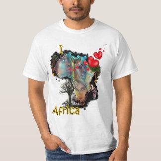 Ik houd van Afrika T Shirt