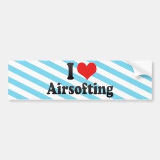 Ik houd van Airsofting Bumpersticker