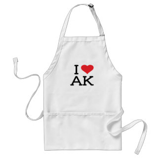 Ik houd van AK - Hart - Schort