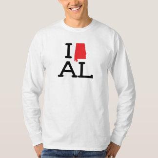 Ik houd van AL - Staat - Mannen Lang Sleeve Shirts