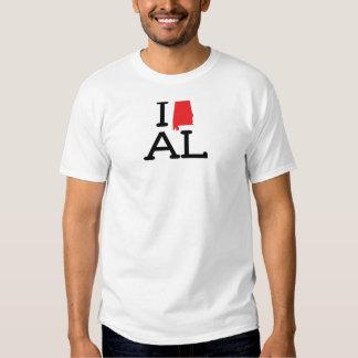 Ik houd van AL - Staat - mannen Zwaar T T-shirts