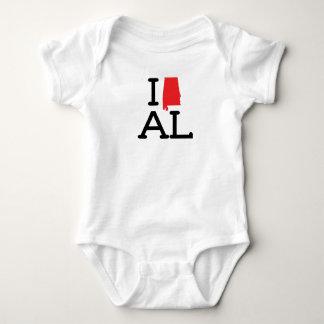 Ik houd van AL - Staat - T-shirts