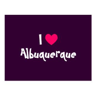 Ik houd van Albuquerque Briefkaart