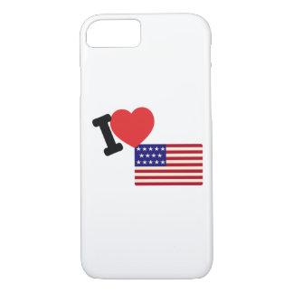 Ik houd van Amerika iPhone 8/7 Hoesje