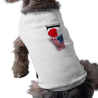 Ik houd van Amerika T-shirt