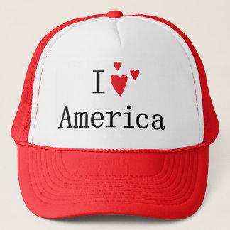 Ik houd van Amerika Trucker Pet