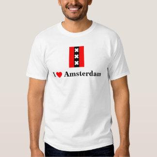 Ik houd van Amsterdam (met inbegrip van het logo Tshirt