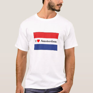 Ik houd van Amsterdam (met inbegrip van T Shirt