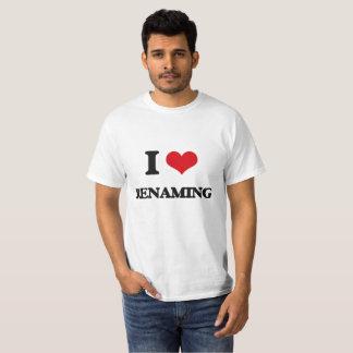 Ik houd van anders noemend t shirt