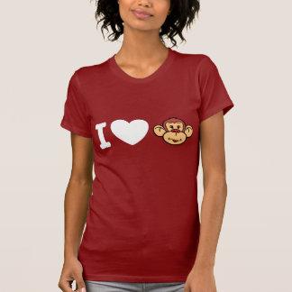 Ik houd van Apen T-shirt