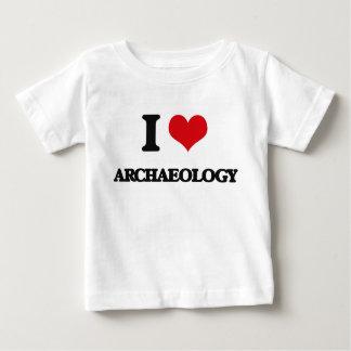 Ik houd van Archeologie Baby T Shirts