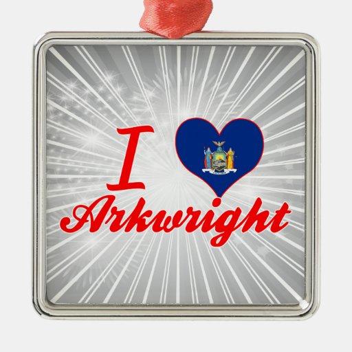 Ik houd van Arkwright, New York Ornamenten