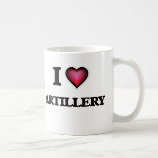 Ik houd van Artillerie Koffiemok