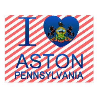 Ik houd van Aston, PA Briefkaart