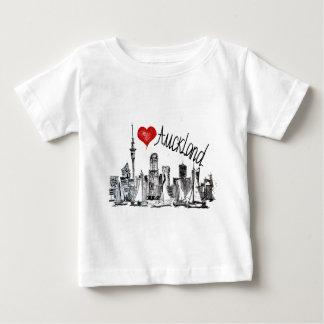 Ik houd van Auckland Baby T Shirts
