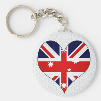 Ik houd van Australië Sleutelhanger