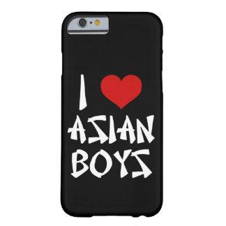 Ik houd van Aziatische iPhone van Jongens 6/6s Barely There iPhone 6 Hoesje