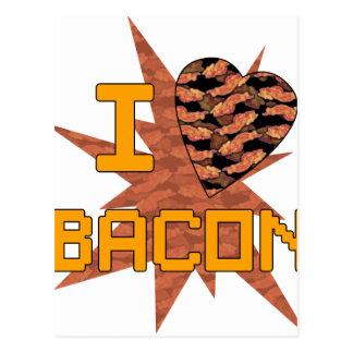 Ik houd van Bacon Briefkaart