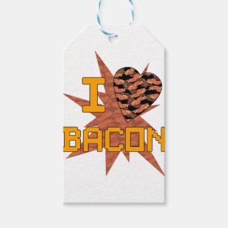 Ik houd van Bacon Cadeaulabel