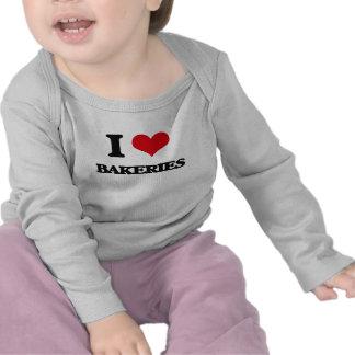 Ik houd van Bakkerijen T-shirt