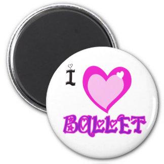 Ik HOUD van Ballet Magneet