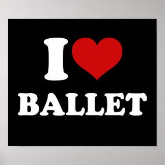 Ik houd van Ballet Poster